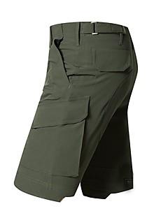 baratos Calças e Shorts para Trilhas-Homens Shorts de Trilha Ao ar livre Secagem Rápida, Vestível, Respirabilidade Elastano Shorts / Calças Equitação / Exercicio Exterior / Multi-Esporte