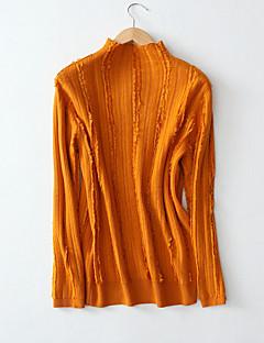 tanie Swetry damskie-Damskie Pulower - Patchwork, Jendolity kolor
