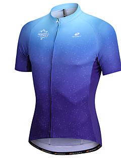 billige Sykkelklær-Nuckily Kortermet Sykkeljersey - Mørkeblå Sykkel