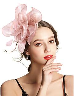 billige Trendy hårsmykker-Dame Vintage / Elegant Hårbånd / Hårklemme / fascinator - Blomst, Ensfarget