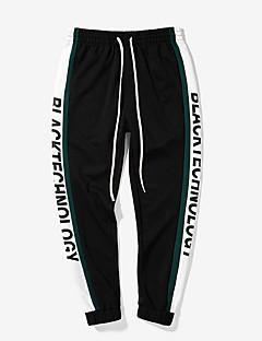 billige Herrebukser og -shorts-Herre Gatemote Chinos Bukser Stripet