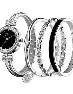 billige Armbåndsure-Dame Armbåndsur Quartz Afslappet Ur Legering Bånd Analog Afslappet Sølv / Rose - Sølv Rose Guld / Hvid Sort / Rose Guld