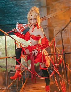 """billige Anime cosplay-Inspirert av Fate / Apokryfene Cookie Anime Anime  """"Cosplay-kostymer"""" Cosplay Klær Animé Skjørt / BH / Ermer Til Dame"""