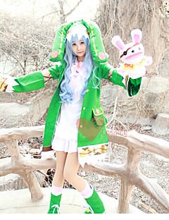 """billige Anime cosplay-Inspirert av Date A Live Yoshino Anime  """"Cosplay-kostymer"""" Cosplay Klær Tegneserie Kostume Til Dame Halloween-kostymer"""