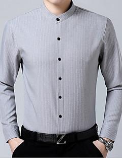 billige Herremote og klær-herreskjorte - stripet stativ