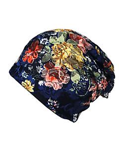 billige Hatter til damer-Dame Grunnleggende / Ferie Solhatt - Netting, Blomstret