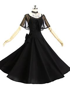 """billige Anime cosplay-Inspirert av Fate / zero Jeanne d'Arc Anime  """"Cosplay-kostymer"""" Cosplay Klær Enkel / Med Tekstur Skjørte / Sjal / Hansker Til Dame Halloween-kostymer"""