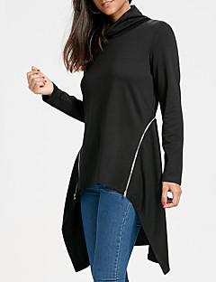 billige T-shirt-Dame - Ensfarvet Gade T-shirt