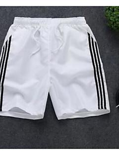 billige Herrebukser og -shorts-Herre Store størrelser Shorts Bukser Fargeblokk