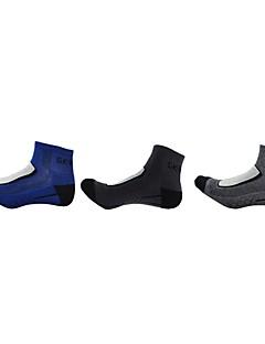 Χαμηλού Κόστους Κάλτσες Ποδηλασίας-Ποδήλατο / Ποδηλασία Κάλτσες Ανδρικά Διατηρείτε Ζεστό / Ικανότητα να αναπνέει / Ελαστικό 3 Ζεύγη Άνοιξη / Καλοκαίρι Πολύχρωμο Βαμβάκι / Άλλο