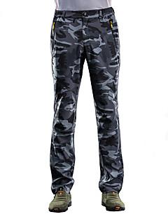 baratos Calças e Shorts para Trilhas-Homens Calças de Trilha Ao ar livre A Prova de Vento, Secagem Rápida, Respirabilidade Inverno Calças Esqui / Equitação / Exercicio Exterior
