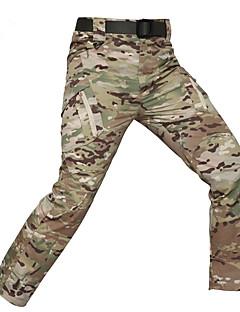 baratos Calças e Shorts para Trilhas-Homens Calças de Trilha Ao ar livre Á Prova-de-Chuva, Secagem Rápida, Respirabilidade Calças Equitação / Alpinismo / Exercicio Exterior