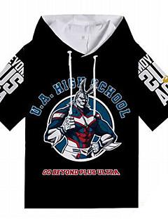 billige Anime Kostymer-My Hero Academy Battle For All / Boku no Hero Academia Alt mulig T-skjorte Polyester / Bomull Til Unisex