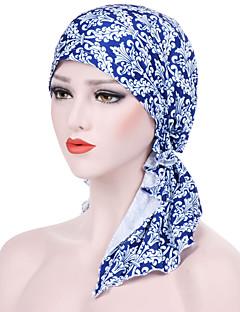 billige Hatter til damer-Dame Grunnleggende / Ferie Solhatt Jacquardvevnad