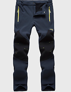 tanie Turystyczne spodnie i szorty-Męskie Spodnie turystyczne Na wolnym powietrzu Odporność na wiatr, Oddychalność Zima Spodnie, Doły Narciarstwo Piesze wycieczki Ćwiczenia na zewnątrz XXXL 4XL 5XL / Średnio elastyczny