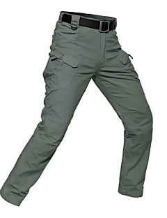 baratos Calças e Shorts para Trilhas-Homens Calças de Trilha Ao ar livre Á Prova-de-Chuva, Respirabilidade, Vestível Outono, Primavera, Verão Calças Equitação Alpinismo Exercicio Exterior XL XXL XXXL / Micro-Elástica