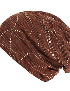 billige Hatter til damer-Dame Grunnleggende / Ferie Solhatt Stripet