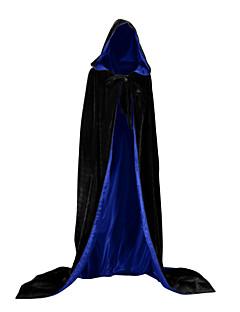billige Halloweenkostymer-Trollmann / heks Vampyrer Jakke Cosplay Kostumer Party-kostyme Kostume Julkjole Unisex Voksen Voksne Dekke Opp Halloween Jul Halloween Karneval Festival / høytid Drakter Grønn / Blå / Mørkegrønn
