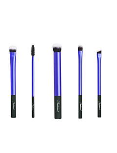 billige Sminkebørstesett-5 stk Makeup børster Profesjonell Børstesett Nylon Fiber syntetisk Plast
