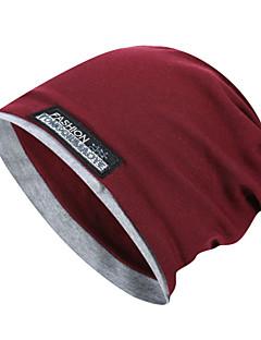 tanie Odzież turystyczna-Czapka turystyczna Czapka Skull Caps Zatrzymujący ciepło Jesień Zima Szary Unisex Ćwiczenia na zewnątrz Sporty zimowe Moda Doroślu / Średnio elastyczny