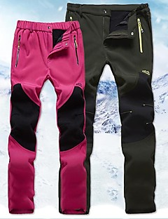 baratos Calças e Shorts para Trilhas-Mulheres Calças de Trilha Ao ar livre A Prova de Vento, Secagem Rápida, Respirabilidade Calças Esqui / Caça / Equitação