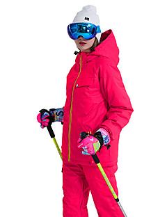 billiga Skid- och snowboardkläder-Wild Snow Dam Skidjacka och -byxor Vindtät, Vattentät, Varm Skidåkning / Vintersport POLY Klädesset Skidkläder