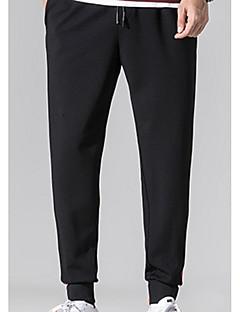 billige Herrebukser og -shorts-menns bomulls chinosbukser - stripete