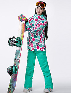 billiga Skid- och snowboardkläder-GSOU SNOW Dam Skidjacka Skidglasögon, Skidåkning, Vintersport Vintersport POLY Överdelar Skidkläder