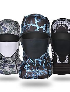 billige Sykkelklær-balaclavas / Ansiktsmaske Høst / Vinter Vindtett / Vanntett / Hold Varm Snowboarding / Ski / Sykkel Herre / Dame Fleece / Pustende