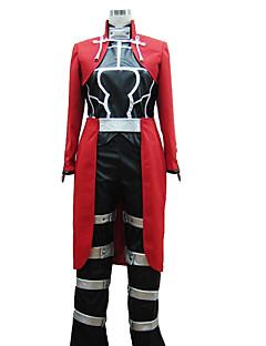 """billige Anime cosplay-Inspirert av Fate / Stay Night Archer Anime  """"Cosplay-kostymer"""" Cosplay Klær Ensfarget / Enkel N / A / Vest / Topp Til Herre / Dame"""