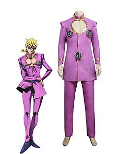 """billige Anime Kostymer-Inspirert av Jojos Bizarre Adventure Cosplay Anime  """"Cosplay-kostymer"""" Cosplay Klær Annen Langermet Topp / Bukser Til Unisex"""