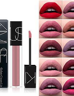 billiga Läppar-1 pcs Fuktig Långvarig Läppar Smink Kosmetisk Julklappar / Speciellt Tillfälle / Träning Skötselprodukter