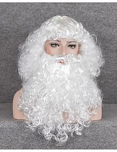 billige julen Kostymer-Nisse drakter Unisex Tenåring Voksne Jul Jul Nytt År Festival / høytid Festet Drakter Hvit Ferie