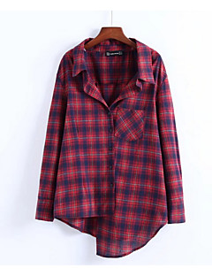 billige Skjorte-Dame - Ternet Basale Skjorte