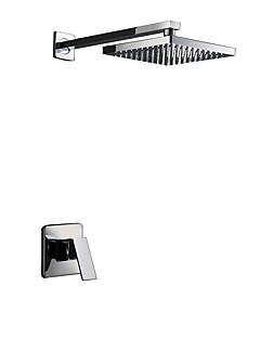 tanie Baterie prysznicowe Sprinkle®-Lightinthrbox Baterie prysznicowe Sprinkle® - Nowoczesny Chrom Ścienna Dwa Otwory