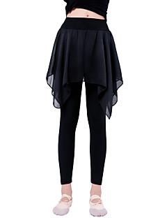 tanie Stroje baletowe-Balet Doły Dla dziewczynek Szkolenie / Spektakl Elastyna / Lycra Jak fala / Materiały łączone Natutalne Spodnie