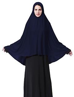 billige Bikinier og damemote-Dame Grunnleggende Hijab - Kryss, Ensfarget