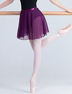 tanie Stroje baletowe-Balet Doły Damskie Szkolenie / Spektakl Elastyna / Lycra Szarfy / Wstążki / Materiały łączone Natutalne Spódnice