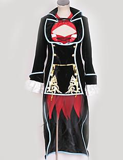 """billige Anime Kostymer-Inspirert av Vokaloid Meiko Anime  """"Cosplay-kostymer"""" Cosplay Klær Spesielt design Kjole / Kappe / Mer Tilbehør Til Herre / Dame"""