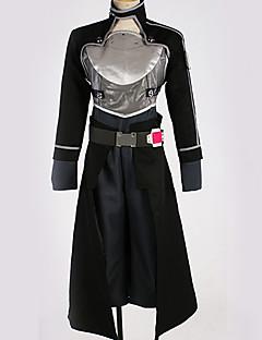 """billige Anime Kostymer-Inspirert av Sword Art Online Kirito Anime  """"Cosplay-kostymer"""" Cosplay Klær Spesielt design Topp / Bukser / Hansker Til Herre / Dame"""