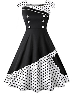 1950s historical vintage costumes search lightinthebox DIY 70s Costume audrey hepburn polka dots retro vintage 1950s costume women s dress black red ink blue vintage cosplay spandex polyster sleeveless knee length