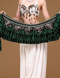 billige Halloween- og karnevalkostymer-Spansk Lady Kostume Dame Voksne Flamenco Halloween Karneval Maskerade Festival / høytid Polyester Legering Drakter Svart / Rød / Mørkegrønn Broderi