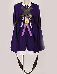 """billige Anime cosplay-Inspirert av Cosplay Cosplay Anime  """"Cosplay-kostymer"""" Cosplay Klær Flerfarget Kappe / Mer Tilbehør / CAP konstruktion Til Herre / Dame"""
