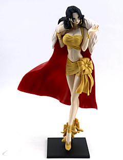 billige Anime cosplay-Anime Action Figurer Inspirert av One Piece Boa Hancock PVC 25 cm CM Modell Leker Dukke