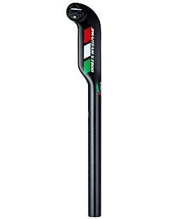 billige Setestolper og sadler-Setestang Veisykling / Sykling / Sykkel / Sykkel med fast gir Sykling / Minsker stress / Langrenn Karbonfiber - 1 pcs Svart