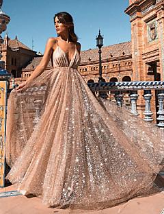 tanie Sukienki-damski, codzienny asymetryczny, wąski pasek do sukienki beżowy s m l xl
