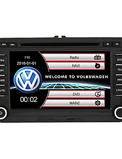 cheap -520WGNR04 7 inch 2 DIN Windows CE In-Dash Car DVD Player GPS / Touch Screen / Built-in Bluetooth for Volkswagen Support / Subwoofer Output / Games / SD / USB Support / FM Transmitter / MPEG4