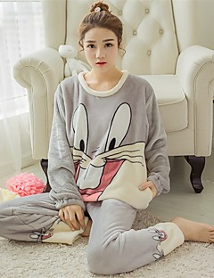 8c61e6a712 Adults  Hoodie Kigurumi Pajamas Rabbit Bunny Onesie Pajamas Flannel Fabric  Gray   Pink Cosplay For Men and Women Animal Sleepwear Cartoon Festival    Holiday ...