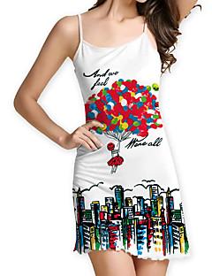51135954bdb4 Γυναικεία Κομψό Σε γραμμή Α Φόρεμα - Γεωμετρικό