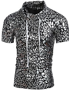 29b72820b174 ανδρικό μπλουζάκι - κολάρο λεοπάρδαλο.  14.15. USD  9.89 · Χαμηλού Κόστους  Ανδρικά μπλουζάκια και φανελάκια-Ανδρικά T-shirt Γεωμετρικό   Λεοπάρ Ζακάρ